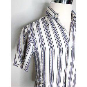Vintage Towncraft Plus Penny's White Shirt Size S
